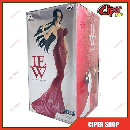 Mô hình Boa Hancock Lady Edge Wedding Banpresto - Red