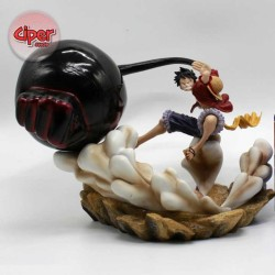 Mô hình Luffy Gear 3 Elephant Gun POP DX