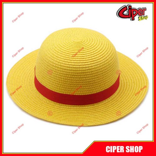 Mũ, nón cosplay luffy - Cosplay One Piece